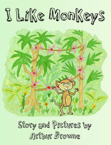 a book cover monkey