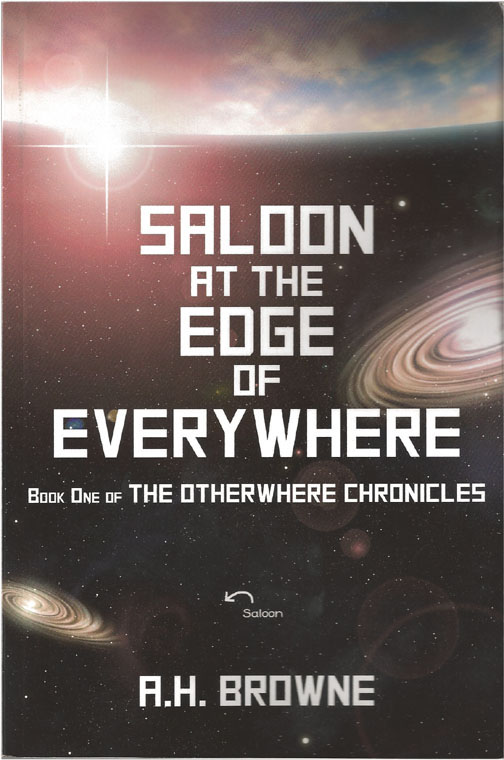 a book cover saloon