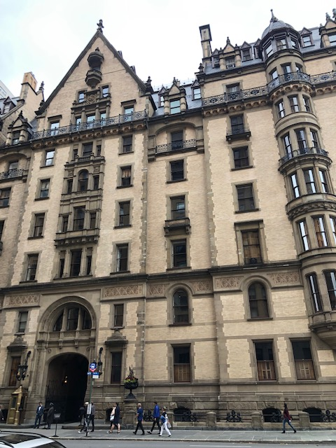 New York City… day 3… part 5… The Dakota, where John Lennon lived and died… | Pouring My Art Out