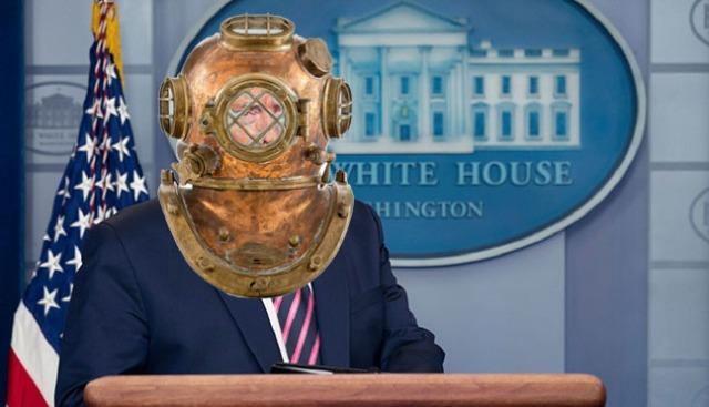Trump Daily Coronavirus Taskforce Briefing, Washington, District of Columbia, USA - 24 Apr 2020